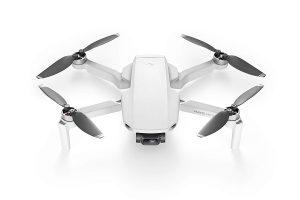 DJI Mavic Mini Drone Ultraleggero e Portatile, Durata Batteria 30 Minuti, Distanza Trasmissione 4 km, Gimbal 3 Assi, 12 MP, Video HD 2.7K