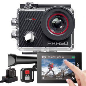 4. AKASO Action Cam 4K EK7000 PRO