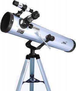 Seben 700-76 Telescopio riflettore con Big Pack incluso