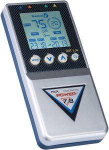 TESMED elettrostimolatore Muscolare Max 7.8 Power - 125 tipologie di trattamenti: Addominali, potenziamento, Aumento Muscolare, estetica, Massaggio tens