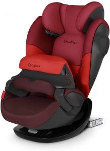 Cybex Seggiolino Auto 2 In 1 per Bambini Pallas M-Fix, per Auto con e Senza Isofix, Gruppo 1/2/3/9-36 kg, Collezione Colori 2019, Rumba Red