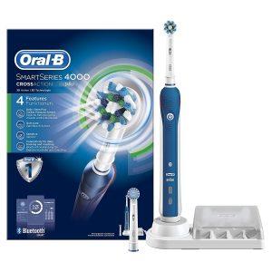 Oral-B SmartSeries 4000 Spazzolino Elettrico Ricaricabile