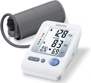 Sanitas SBM 21 Misuratore di Pressione Sanguigna da Braccio, Batterie incluse