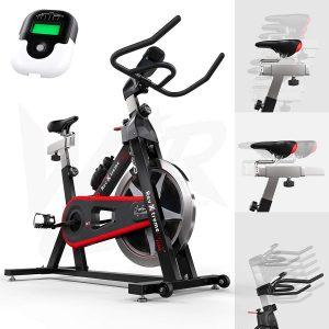 We R Sports Aerobico Formazione Ciclo/Esercizio Bici al Coperto Ciclismo Macchina - Pesante Dovere Telaio con 13kg Volano