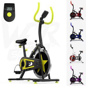 We R Sports Esercizio Bici / Aerobico Al Coperto Formazione Ciclo Fitness Cardio Allenamento Casa Ciclismo Macchina - 10kg Volano