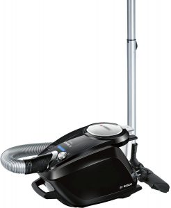 Bosch BGS5SIL66B - Relaxx'x ProSilence66, Aspirapolvere a traino, Senza Sacco, 700 W [Classe di efficienza energetica A]